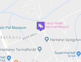 Dráva Hotel Thermal Resort a térképen